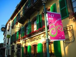 Sala de seminarios: Hotel-restaurante Aux Trois Roses -