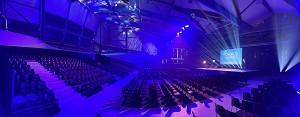 Pabellón a - configuración del congreso 800 plazas