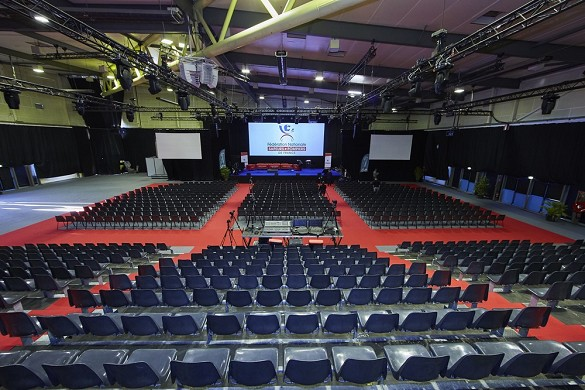 El coro - sala plenaria