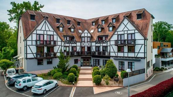 Hotel les alizés - fachada