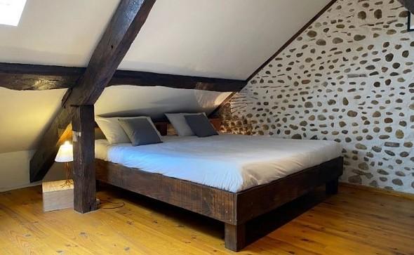 Domaine des deux clos - camera da letto