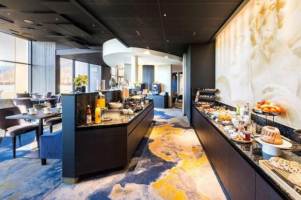 Best western plus hotel les humanistes - buffet
