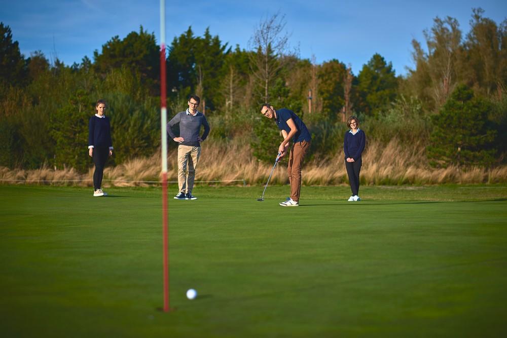 La villa dell'hotel - attività di team building - introduzione al golf