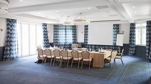 La mansión del hotel. Sala de seminarios.