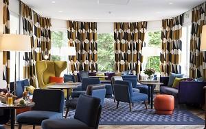 El hotel señorial - el salón