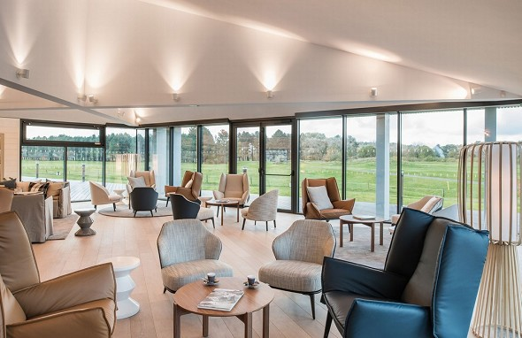 The mansion hotel - the spoon - restaurant club house Golf du Touquet
