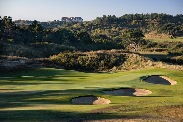 The manor hotel - golf du Touquet - course of the sea