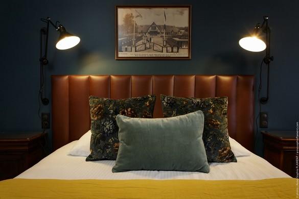 The manor hotel - camera da letto