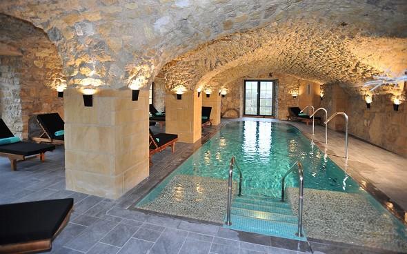 Domaine de la klauss - indoor swimming pool