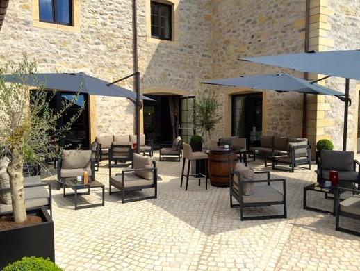 Domaine de la klauss - terrace