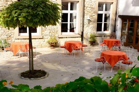 Auberge saint walfrid - terrace