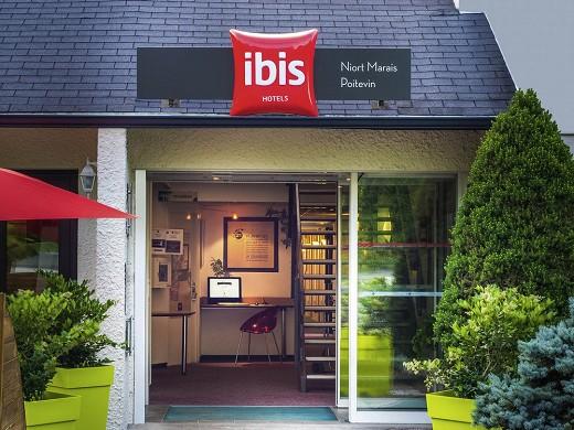 Ibis niort marais poitevin - entrance