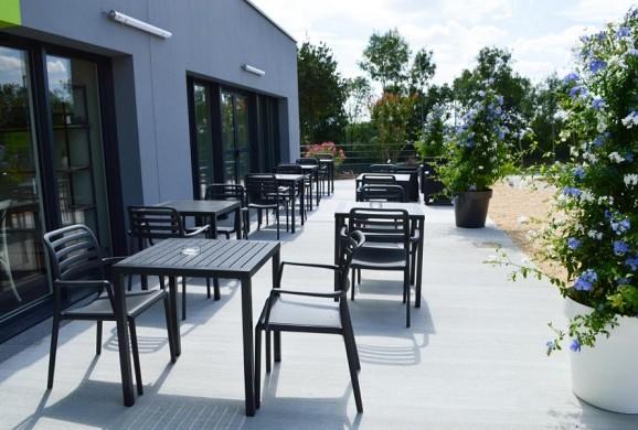 Ax hotel la châtaigneraie - terrace