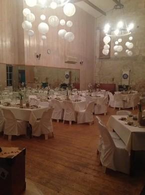 Auberge de crespé - reception hall