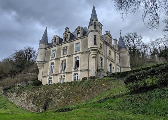 Castello del lupo - facciata