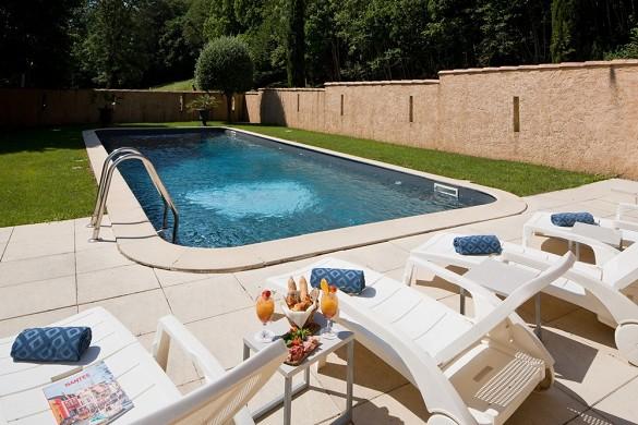 Hotel saint-martin - piscina
