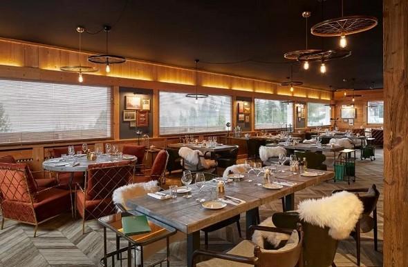 Valle alpina - ristorante