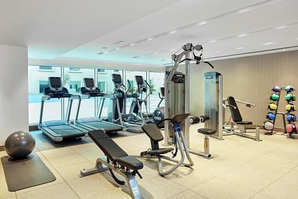 Hilton garden inn massy - fitness room