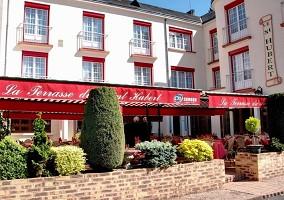 Hotel Saint-Hubert - Terrazza