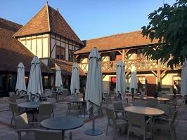 Auberge du Cheval Blanc - Terraza