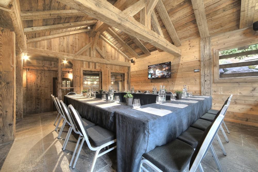 les fermes de marie sibuet hotels et spa salle s minaire meg ve 74. Black Bedroom Furniture Sets. Home Design Ideas