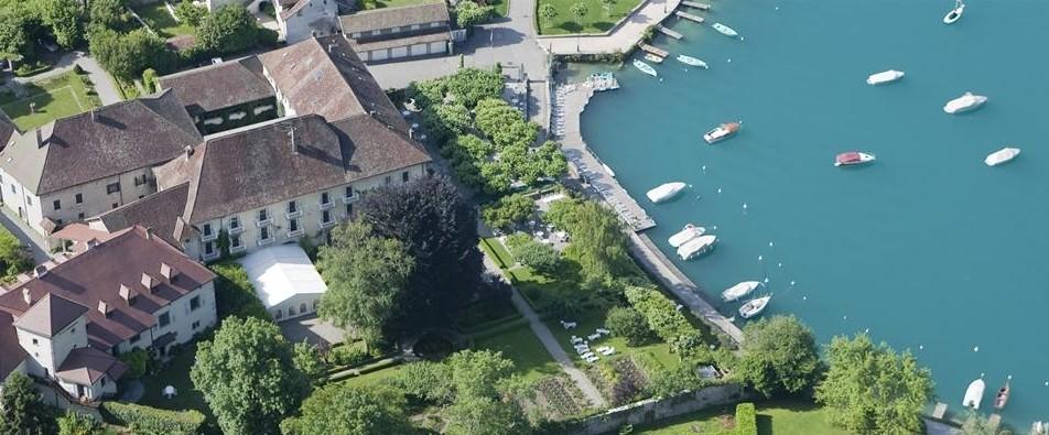 vista panorámica Abbaye de Talloires