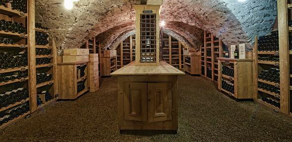 Abbaye de Talloires cellar