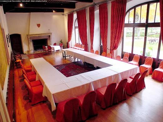 sala de Abbaye de Talloires u