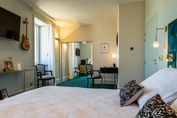 Hotel olivier leflaive - camera da letto
