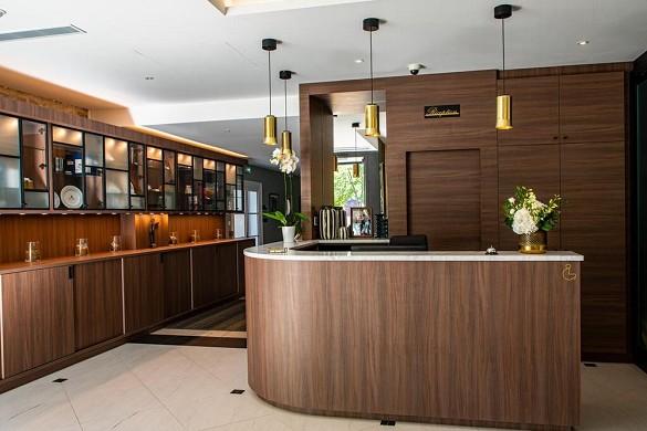 Hôtel olivier leflaive - reception