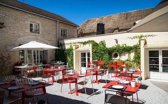 Hotel olivier leflaive - terrazza