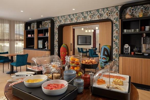 Hôtel les nomades - colazione