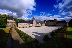 Castello di Canisy - Esterno
