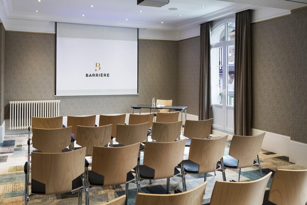 Hotel barrier le normandy - sala per seminari