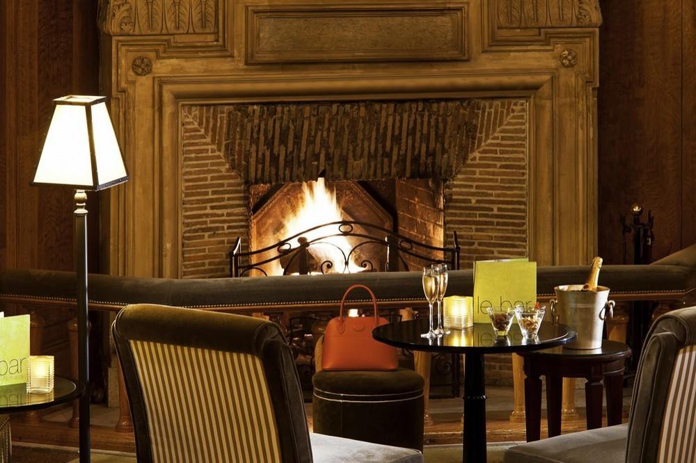 Hotel barrier le normandy - vicino al fuoco