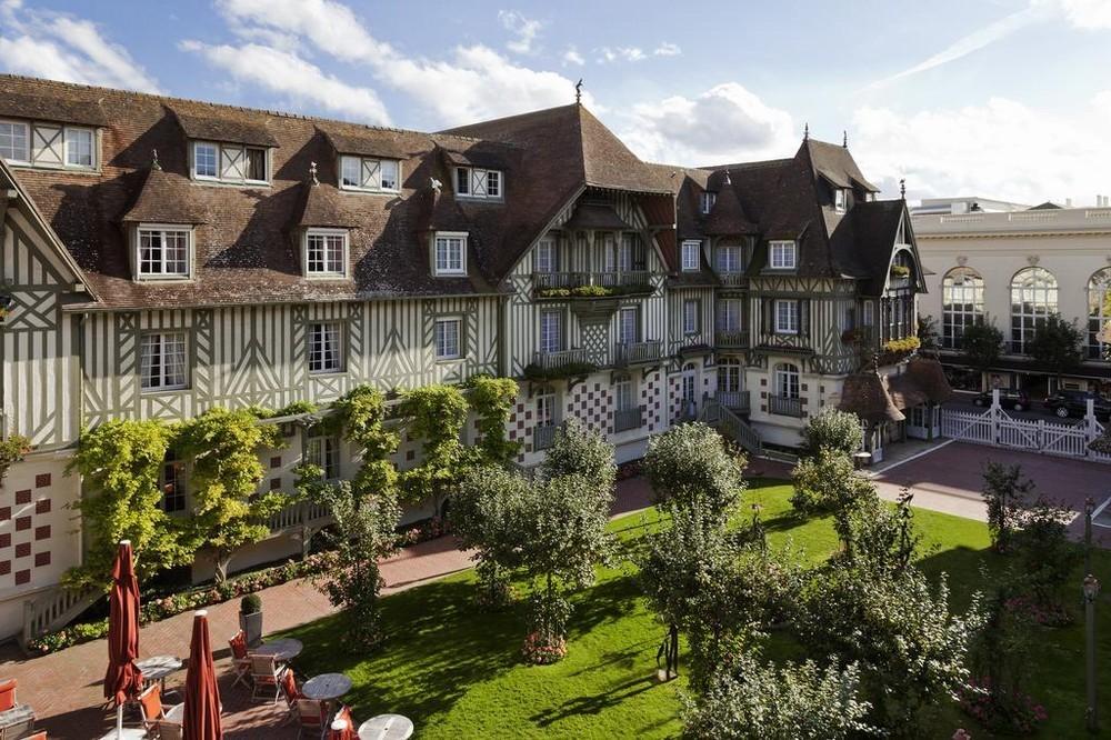 Hotel barrier le normandy - terrazza