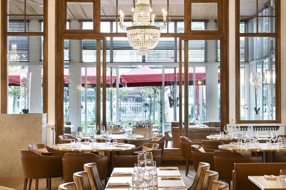 Hotel barrier le normandy - ristorante