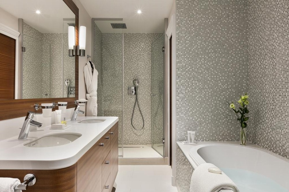 Hotel barrier le normandy - bagno