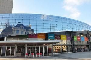 Amiens Kulturhaus - Außenansicht