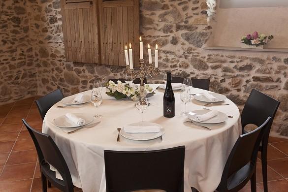 Schloss Mulonnière - Tisch