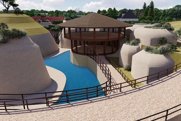 Bioparc zoo di doué-la-fontaine - luogo per seminari nella Somme