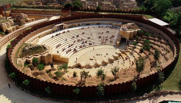 Bioparc zoo di doué-la-fontaine - anfiteatro