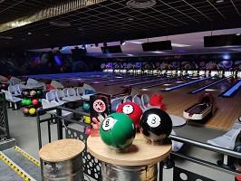 Bowling dell'evento