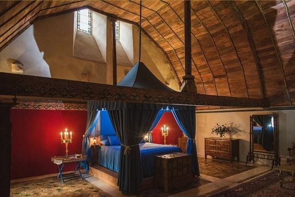 Farcheville Castle - Schlafzimmer
