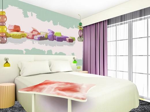 Ibis styles fréjus saint-raphaël - dormitorio