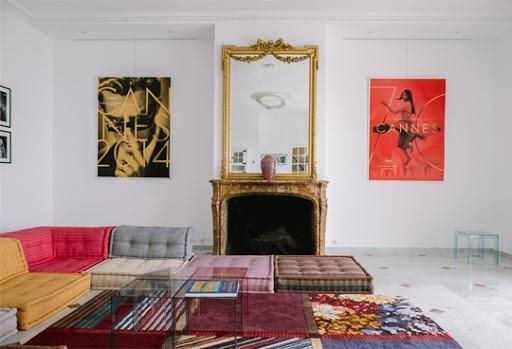 Château des costes - living room
