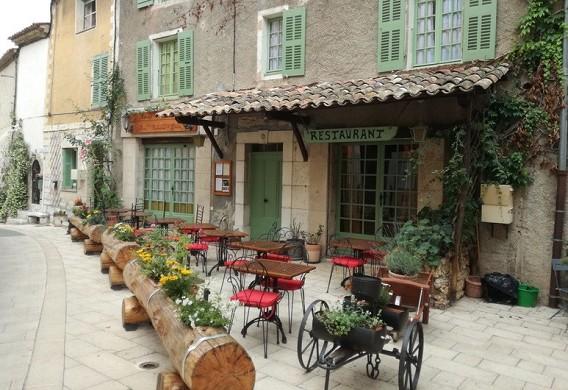 The baudinard inn - exterior