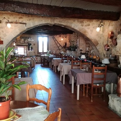 The baudinard inn - sala de restaurante