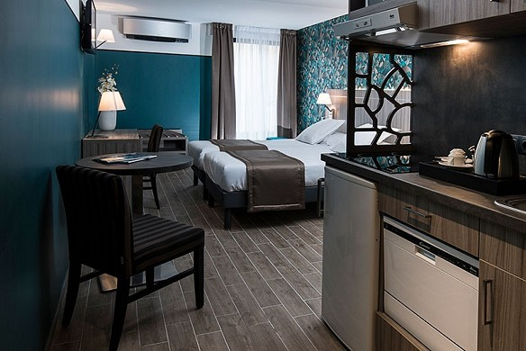 Unique hotel and residence - room