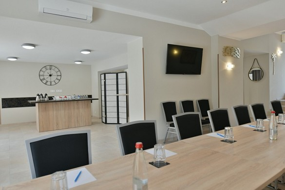 Unique hotel and residence - seminar room